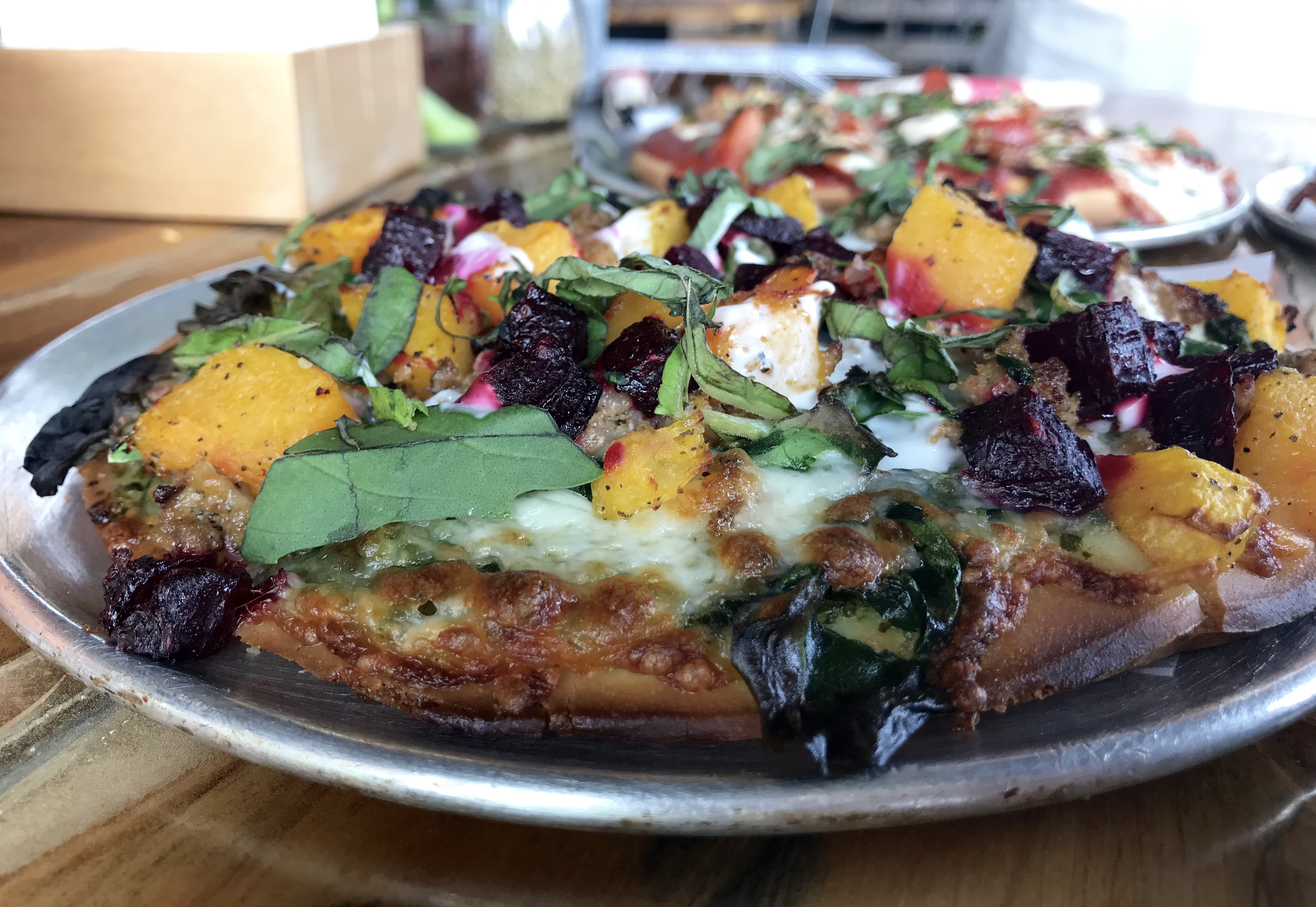 red tractor pizza - organic pizza in bozeman montana | dairy free, gluten free, soy free, grain free