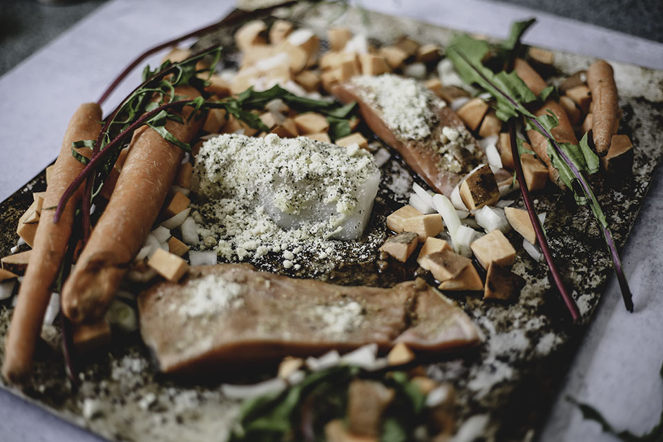 Delicious WIld Alaska Salmon Sheet Pan Dinner | Come and try it!