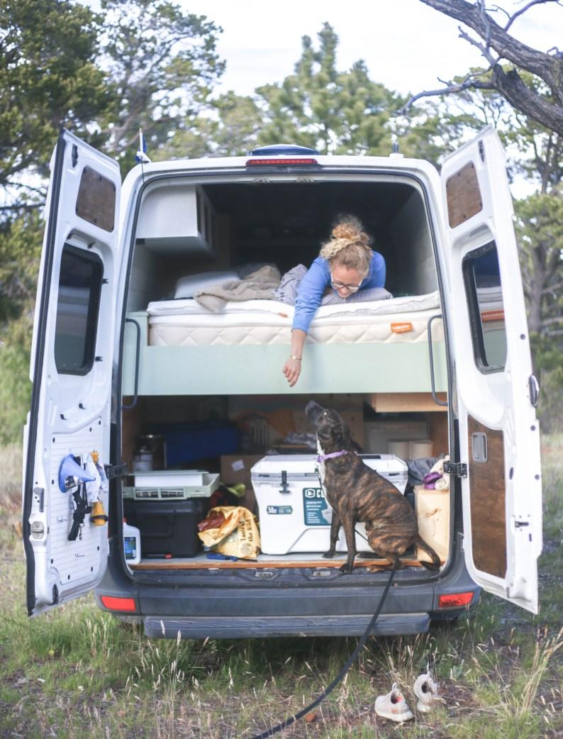 Non toxic mattress - Van life