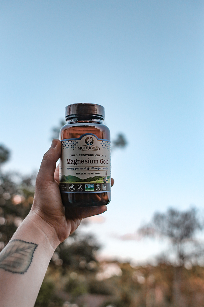 Low Waste Supplement Brand Nutrigold Organic | Low Waste Van Lifestyle