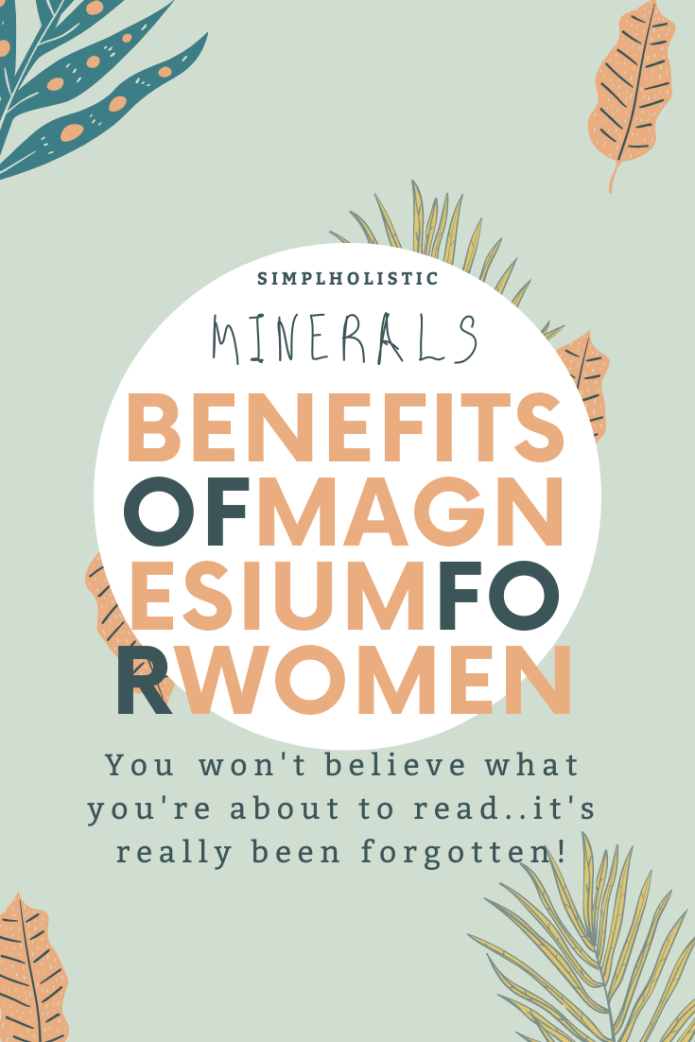The forgotten mineral - magnesium for women's health
