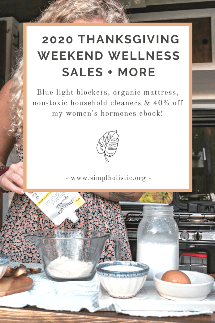 2020 Thanksgiving Weekend Wellness Sales You Can't Miss
