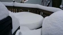 My back deck.