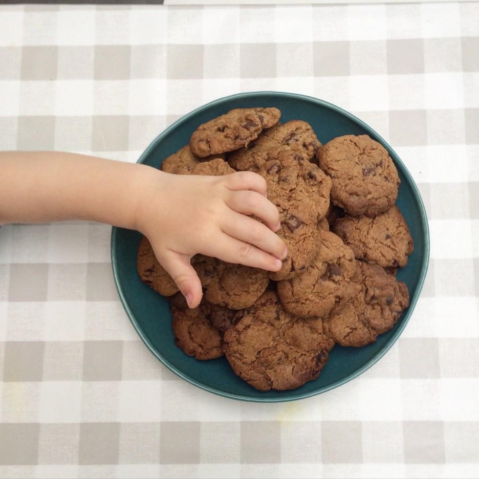 chocolade koekjes © Clayandmore