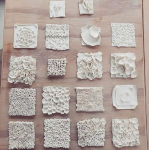 wandpaneel papierporselein