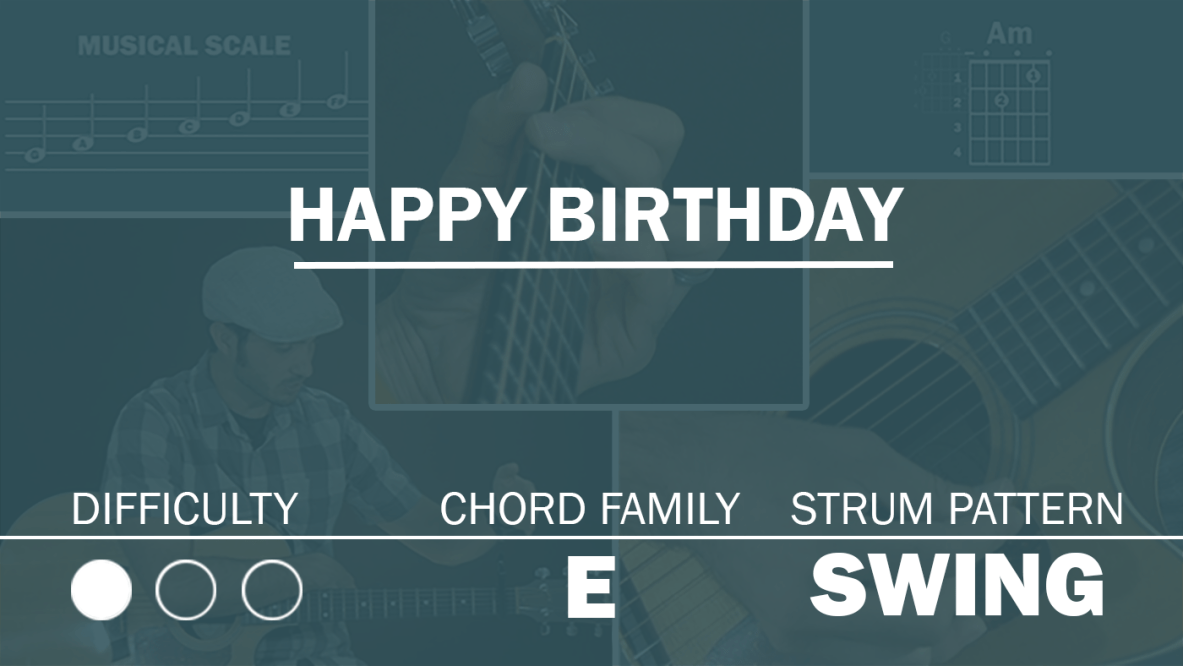 Happy Birthday Song Archives Simplified Guitar