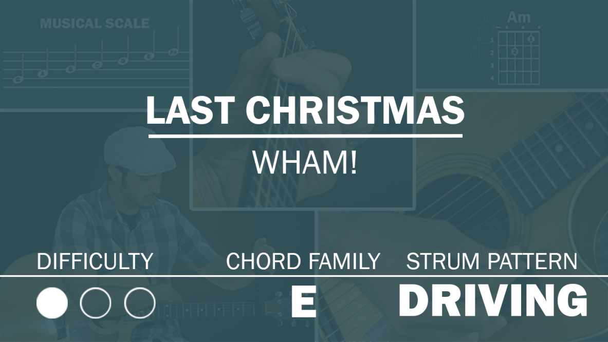 Last Christmas Archives Simplified Guitar