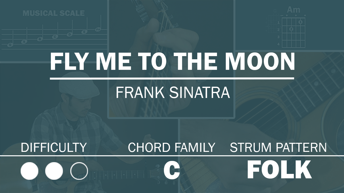 Fly Me To The Moon Simplified Guitar