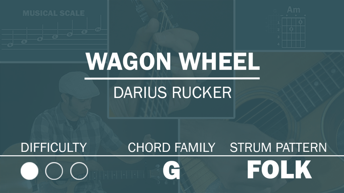 Wagon Wheel Archives Simplified Guitar