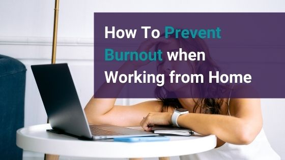 prevent burnout while working from home.   simplifiedsolobusiness.com   #timemanagement #selfcare #alignment