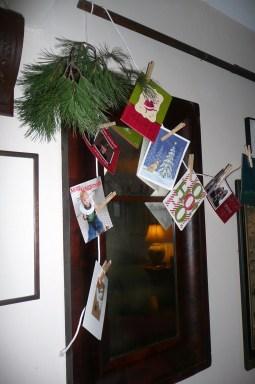 Cards on a Clothesline