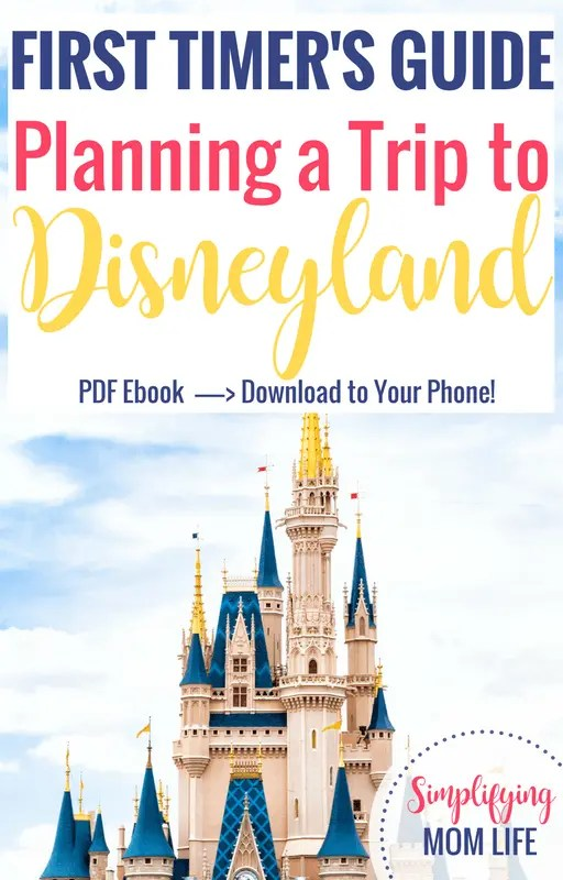 First Timer's Guide - Planning a Trip to Disneyland _ Top Disneyland tips, first time to Disneyland, secrets, tricks, maximize time, beat the crowds