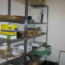 Phil's supply room - before