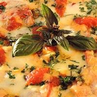 Pizza din legume cu blat de conopida