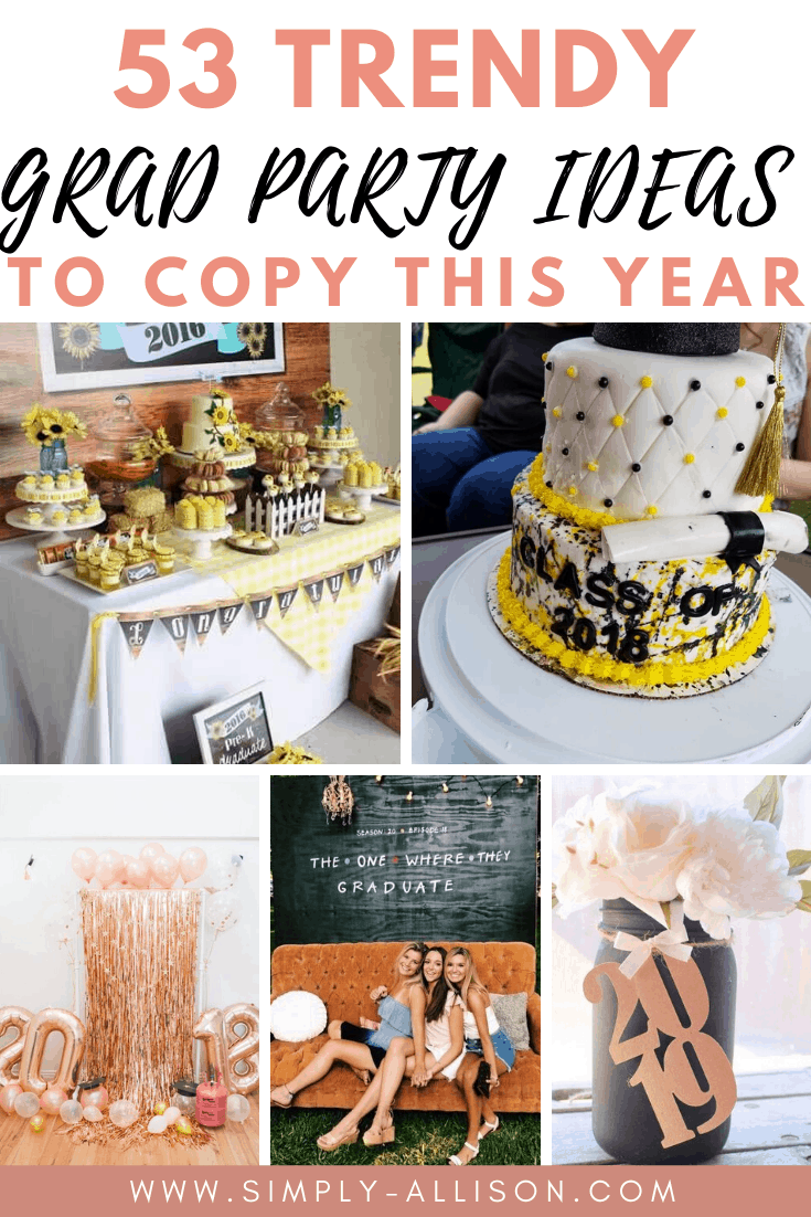 graduation party ideas for girls