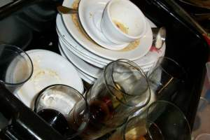 pixabay dirty dishes