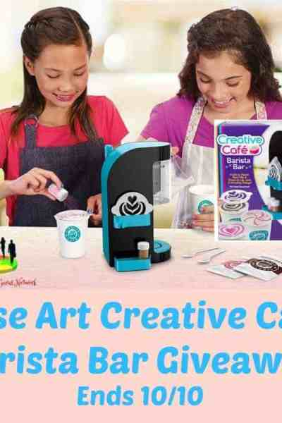 Welcome to the RoseArt Creative Cafe Barista Bar Giveaway Ends 10/10