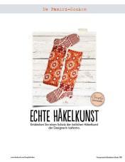 Orangene Socken Fantastische Häkel-Mode-Ideen 0515
