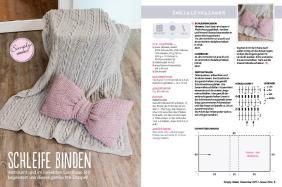 Häkel-Anleitung Decke Schleifen Kissen Beileger Simply Häkeln 0615