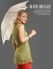 Häkelanleitung: Grünes Shirt – Fantastische Häkel-Mode-Ideen 03/2016