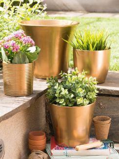 DIY-Blumentöpfe aus der Simply Kreativ 04/2015