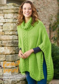 Strickanleitung Poncho Simply Stricken 0317