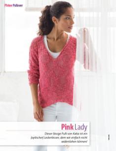 Strickanleitung - Katia pinker Pullover - Fantastische Frühlings-Strickideen - 0218
