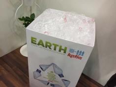 3 recycelte Flaschen ergeben ein neues Knäuel – so einfach kann Umweltschutz sein!