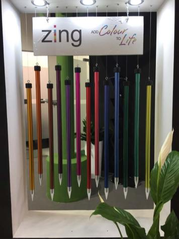 Zingsalabm: Auch 2017 dürfen KnitPros bunte Nadeln nicht fehlen