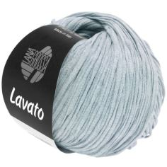 Lana Grossa Lavato Farbe 15 Hellblau meliert