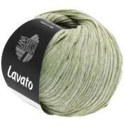 Lana Grossa Lavato Farbe 4 Hellgrün meliert