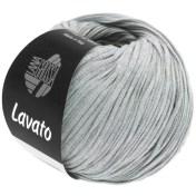 Lana Grossa Lavato Farbe 5 Silbergrau meliert