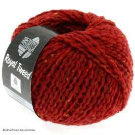 Lana Grossa, Royal Tweed, 21 Ziegelrot meliert