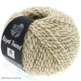 Lana Grossa, Royal Tweed, 29 Natur meliert