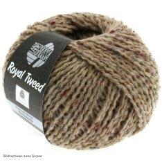 Lana Grossa, Royal Tweed, 59 Taupe