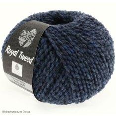 Lana Grossa, Royal Tweed, 72 Jeans meliert