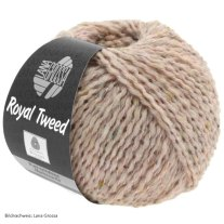 Lana Grossa, Royal Tweed, 88 Erika meliert