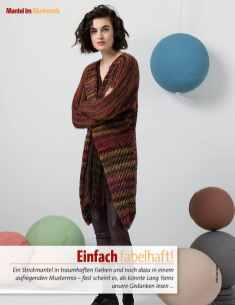 Strickanleitung Lang Yarns Mantel Fantastische Strickideen Winter Special