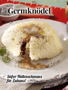 Simply kreativ - Germknödel - Hüttenzauber Rezepte für den Thermomix - 0118
