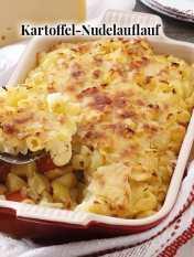 Simply kreativ - Kartoffel-Nudelauflauf - Hüttenzauber Rezepte für den Thermomix - 0118