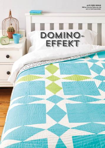 Nähanleitung - Domino-Effekt - Simply Kreativ - Patchwork - 0318