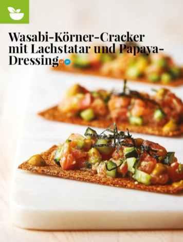 Simply kreativ - Wasabi-Körner-Cracker - Neue Rezepte für den Thermomix - 0218