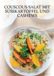 Gesund und fix - Kochen mit dem Thermomix - Couscous-Salat mit Süßkartoffel und Cashews 0218