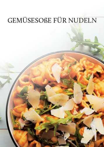 Gesund und fix - Kochen mit dem Thermomix - Gemüsesoße für Nudeln 0218