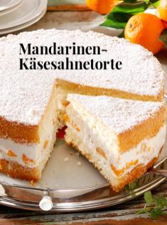 Rezept - Mandarinen-Käsesahnetorte - Simply kreativ Backen Thermomix - 0218