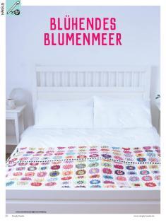 Häkelanleitung - Blühendes Blumenmeer - Simply Kreativ Heft 02/2019