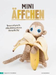 Häkelanleitung - Mini-Äffchen - Fantastische Häkelideen - Amigurumi Vol. 21