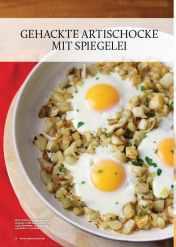 Rezept - Gehackte Artischocke mit Spiegelei - Gesund & fix kochen mit dem Thermomix® 03/2018
