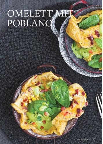 Rezept - Omlette mit Poblano - Gesund & fix kochen mit dem Thermomix® 03/2018