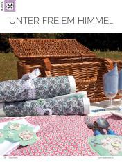 Nähanleitung - Unter freiem Himmel - Simply Kreativ Heft 02/2019